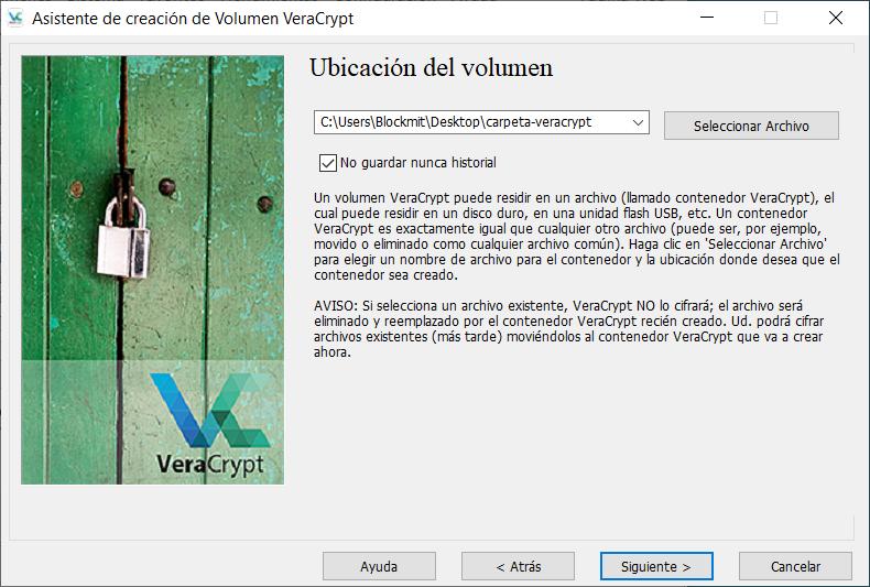 primeros-pasos-veracrypt - veracrypt_archivo_contenedor_03