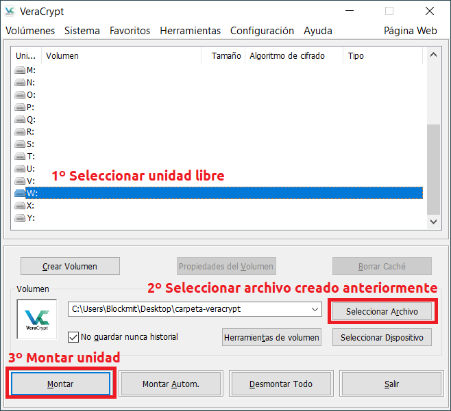 primeros-pasos-veracrypt - veracrypt_archivo_montar_unidad_01